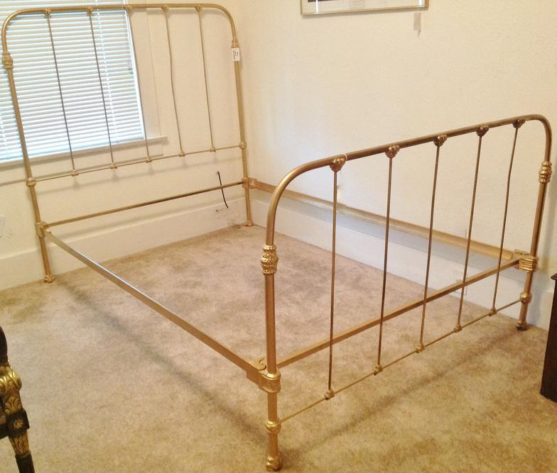 How To Paint Wrought Iron Bed Frame