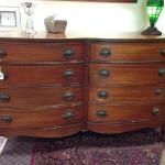 8 drawer mahogany dresser. $375.