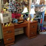 1930s 5 drawer vanity with mirror $375.00