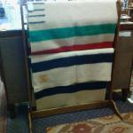 Hudson's Bay Point blanket, Made in England, 100% Wool. $250