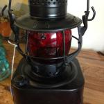 Dietz square railroad lantern