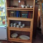 "57.5"" X 13.5"" X 31.5"" Lawyer bookcase with 4 shelves"